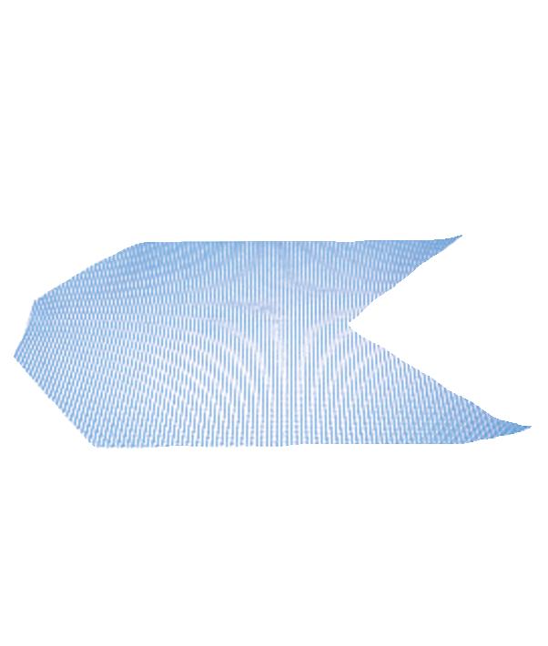 FKR23 FRE rete diagonale in fibra di vetro