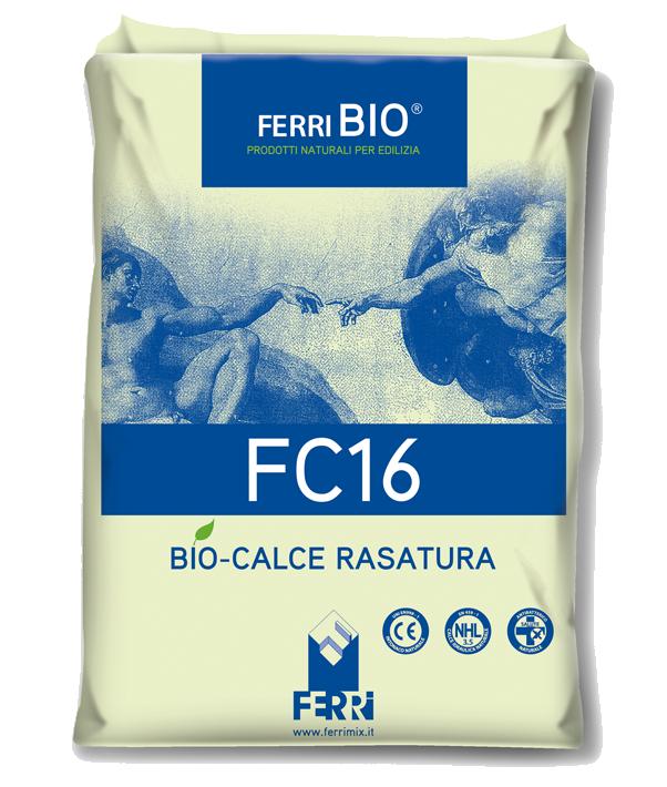 FC16 Biocalce rasatura finitura