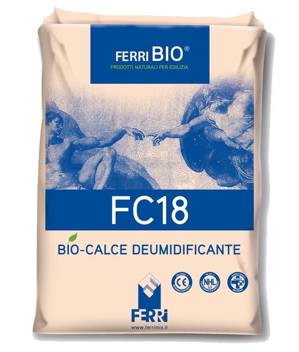 FC18 Biocalce intonaco deumidificante