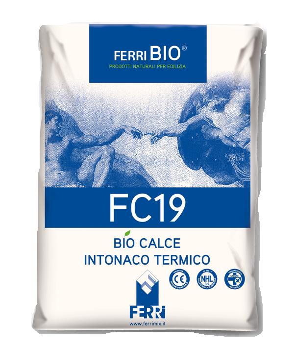 FC19 Biocalce intonaco termico
