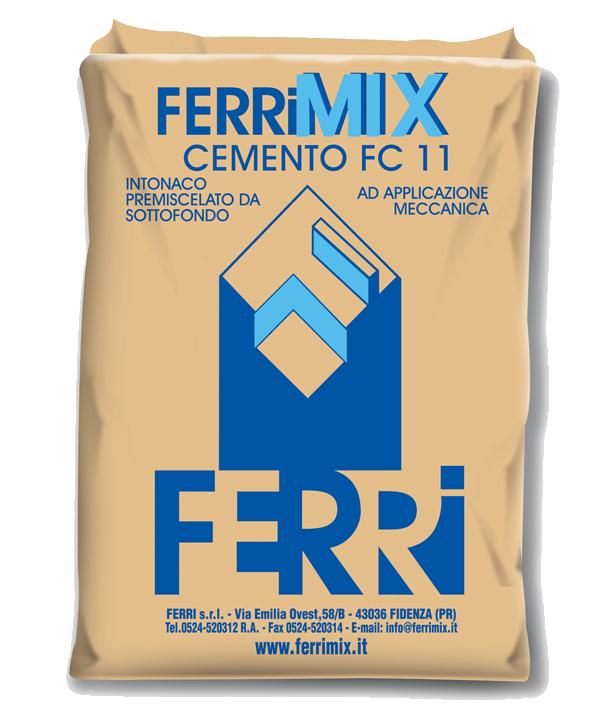 FC11 Intonaco cementizio tradizionale