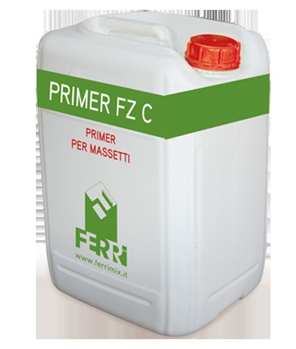 primer FZC primer consolidante per pavimenti non sensibili all'umidità