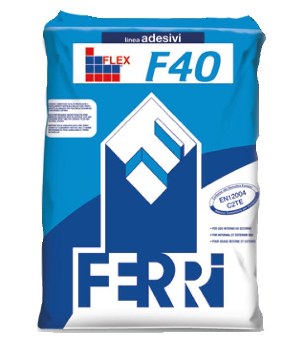 F40 Flex Adesivo C2te Ferri